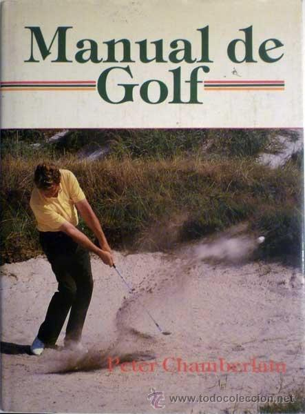 Libros antiguos: MANUAL DE GOLF - Foto 1 - 34565155