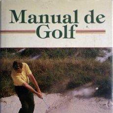 Libros antiguos: MANUAL DE GOLF. Lote 34565155