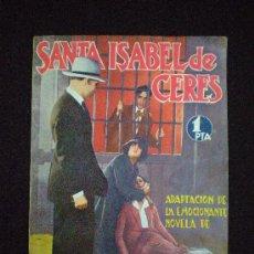 Livros antigos: LIBRO. ALFONSO VIDAL Y PLANAS. SANTA ISABEL DE CERES. ED. BISTAGNE. BARCELONA. C.1930.. Lote 34573639