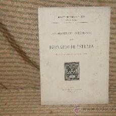 Libros antiguos: 2017- LOS CODICES DEL INTENDENTE DON BERNARDO DE ESTRADA. IGNACIO DE TORRES. TYP. SAAVEDRA. 1914.. Lote 34575492