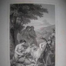 Libros antiguos: LETTRES A ÉMILIE SUR LA MITHOLOGIE, C.A. DEMOUSTIER, 1860. POSEE 10 GRABADOS. Lote 34598948