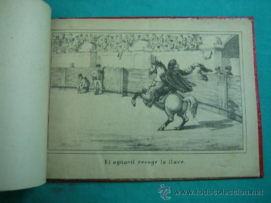 Libros antiguos: Libro de 20 laminas taurinas LA FIESTA ESPAÑOLA - Foto 5 - 34693412