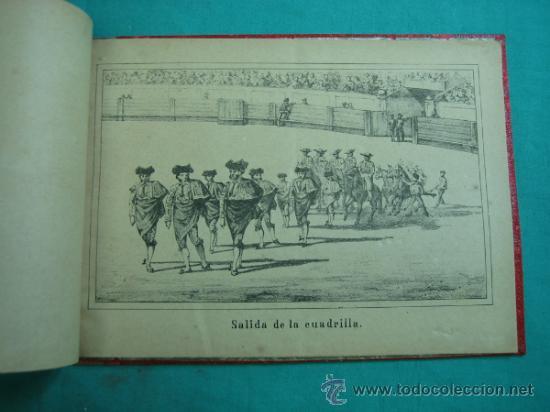 Libros antiguos: Libro de 20 laminas taurinas LA FIESTA ESPAÑOLA - Foto 6 - 34693412