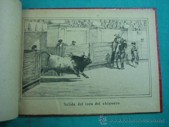 Libros antiguos: Libro de 20 laminas taurinas LA FIESTA ESPAÑOLA - Foto 7 - 34693412