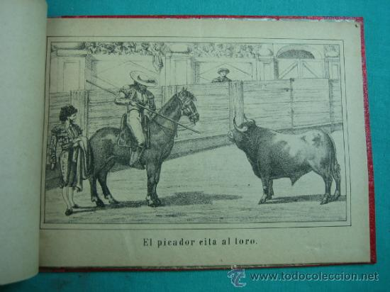 Libros antiguos: Libro de 20 laminas taurinas LA FIESTA ESPAÑOLA - Foto 8 - 34693412