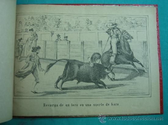 Libros antiguos: Libro de 20 laminas taurinas LA FIESTA ESPAÑOLA - Foto 10 - 34693412