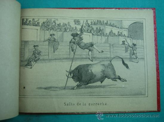 Libros antiguos: Libro de 20 laminas taurinas LA FIESTA ESPAÑOLA - Foto 13 - 34693412