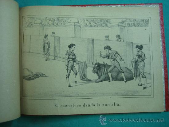 Libros antiguos: Libro de 20 laminas taurinas LA FIESTA ESPAÑOLA - Foto 23 - 34693412