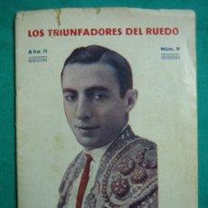 Libros antiguos: LOS TRIUNFADORES DEL RUEDO Nº 9. Lote 34677185