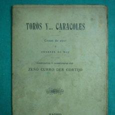 Libros antiguos: TOROS Y CARACOLES 1915. Lote 34698855