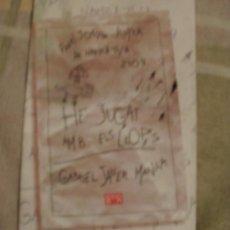 Libros antiguos: FRAGMENTO NOVELA CATALANA HE JUGAT AMB ELS LLOPS. Lote 145751252