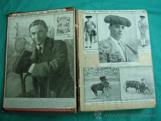 Libros antiguos: Libro encuadernado de la revista taurina LOS TOROS 1909 - Foto 3 - 34737505