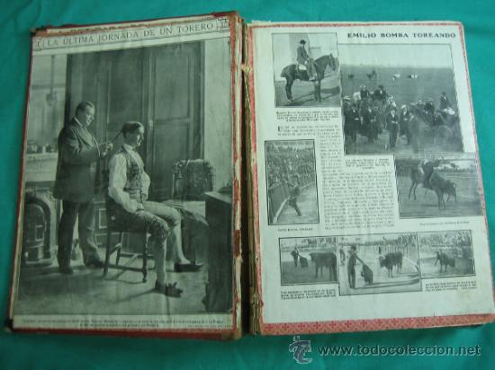 Libros antiguos: Libro encuadernado de la revista taurina LOS TOROS 1909 - Foto 4 - 34737505