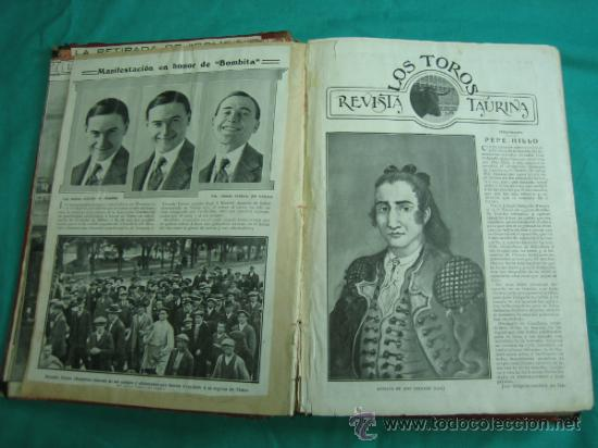 Libros antiguos: Libro encuadernado de la revista taurina LOS TOROS 1909 - Foto 5 - 34737505