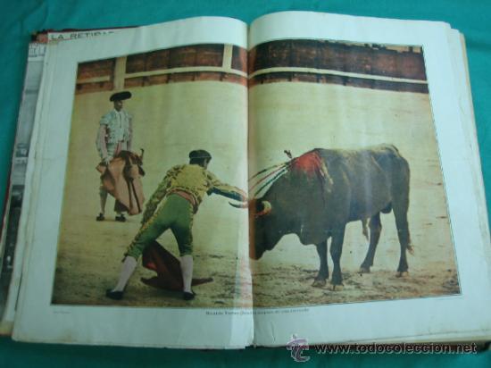 Libros antiguos: Libro encuadernado de la revista taurina LOS TOROS 1909 - Foto 6 - 34737505