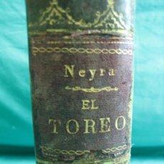 Libros antiguos: EL TOREO .GRAN DICCIONARIO TAUROMAQUIO POR J. SANCHEZ NEIRA TOMO II 1879. Lote 34737584