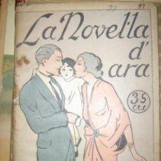 Libros antiguos: LA NOVEL.LA DÀRA. EL MUSIC BOIG. JOAN SANTAMARIA. 1924. Lote 34810557