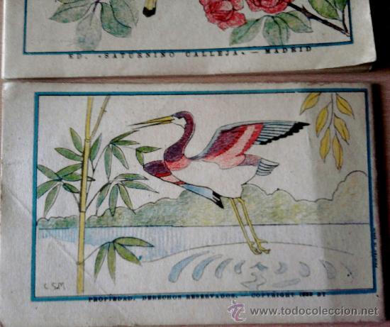 Libros antiguos: 2 CUADERNOS -PINTURAS INFANTILES- SATURNINO CALLEJA-MADRID- AÑO 1935, PRE GUERRA CIVIL ESPAÑOLA. - Foto 2 - 34811969
