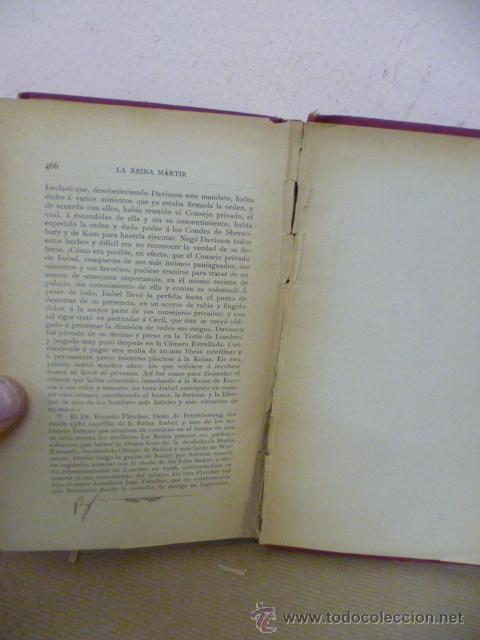 Libros antiguos: COLOMA, LUIS; LA REINA MARTIR: APUNTES HISTORICOS DEL S XVI - Foto 8 - 34852525