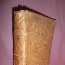 Libros antiguos: FLOS SANCTORUM·VIDAS DE LOS SANTOS ANTIGUOS - ALONSO DE VILLEGAS - AÑO 1775·PERGAMINO IN FOLIO.. Lote 34855463