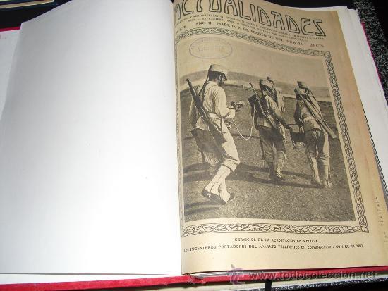 Libros antiguos: 1909 GUERRA DE MARRUECOS MAS DE 400 FOTOGRAFIAS ( 80 DE TAMAÑO, FOLIO O FOLIO DOBLE) ACTUALIDADES - Foto 2 - 34987732