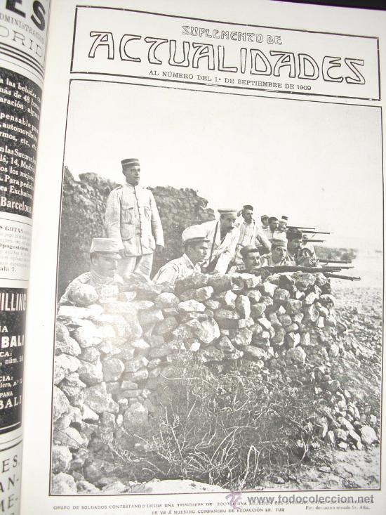 Libros antiguos: 1909 GUERRA DE MARRUECOS MAS DE 400 FOTOGRAFIAS ( 80 DE TAMAÑO, FOLIO O FOLIO DOBLE) ACTUALIDADES - Foto 4 - 34987732