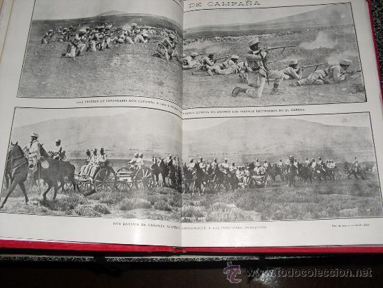 Libros antiguos: 1909 GUERRA DE MARRUECOS MAS DE 400 FOTOGRAFIAS ( 80 DE TAMAÑO, FOLIO O FOLIO DOBLE) ACTUALIDADES - Foto 5 - 34987732