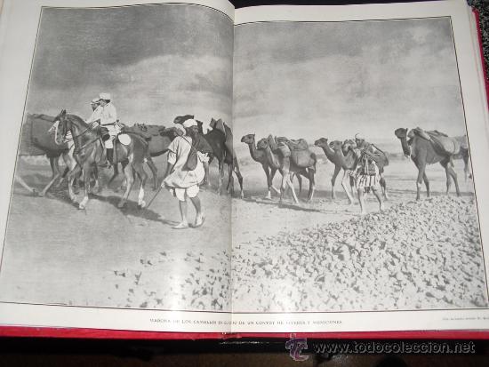 Libros antiguos: 1909 GUERRA DE MARRUECOS MAS DE 400 FOTOGRAFIAS ( 80 DE TAMAÑO, FOLIO O FOLIO DOBLE) ACTUALIDADES - Foto 6 - 34987732
