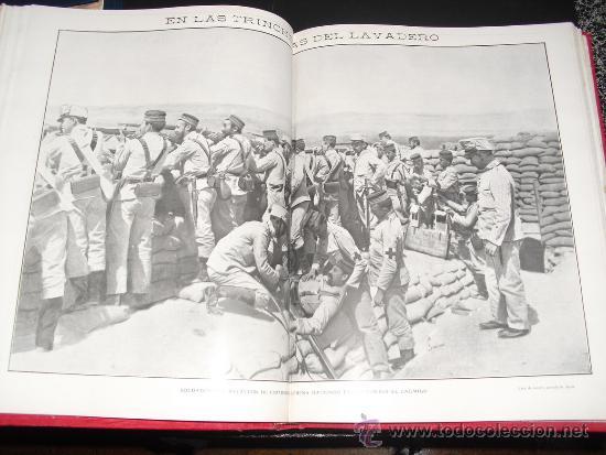Libros antiguos: 1909 GUERRA DE MARRUECOS MAS DE 400 FOTOGRAFIAS ( 80 DE TAMAÑO, FOLIO O FOLIO DOBLE) ACTUALIDADES - Foto 7 - 34987732