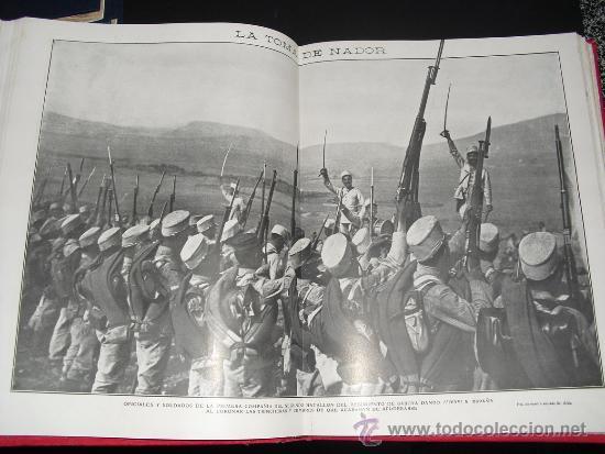 Libros antiguos: 1909 GUERRA DE MARRUECOS MAS DE 400 FOTOGRAFIAS ( 80 DE TAMAÑO, FOLIO O FOLIO DOBLE) ACTUALIDADES - Foto 8 - 34987732