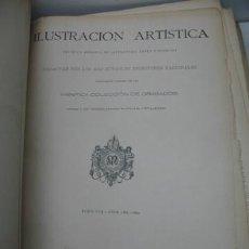 Libros antiguos: IMPRESIONANTE LIBRO DE LA ILUSTRACIÓN ARTÍSTICA DEL AÑO 1899 - DE GRAN TAMAÑO. Lote 90659013