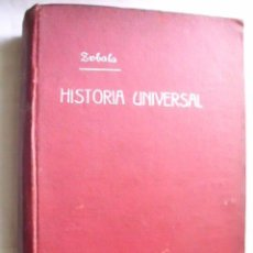 Libros antiguos: COMPENDIO DE HISTORIA UNIVERSAL. ZABALA URDANIZ, MANUEL. 1912. Lote 35020559