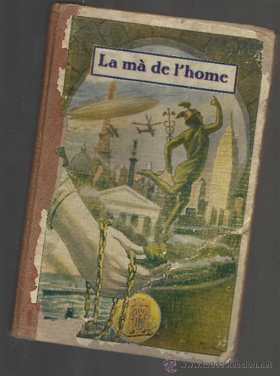 Libros antiguos: record diada del llibre reus 1936 republica escola catalana la mà de l'home manuel marinel·lo - Foto 2 - 35047909