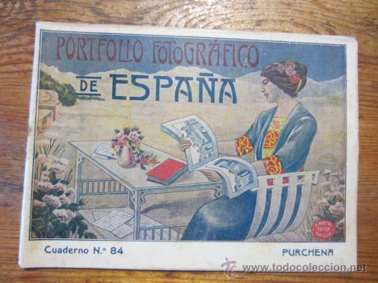 PURCHENA - PORTAFOLIO FOTOGRAFICO DE ESPAÑA. (Libros Antiguos, Raros y Curiosos - Pensamiento - Otros)