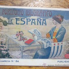 Libri antichi: PURCHENA - PORTAFOLIO FOTOGRAFICO DE ESPAÑA.. Lote 35265725