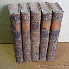 Libros antiguos: HISTOIRE DU PRINCE EUGENE DE SAVOYE. 1777. 5 TOMOS (COMPLETO).. Lote 35185063
