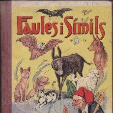 Libros antiguos: FAULES I SIMILS ILUSTRAT PER UTRILLO COLECCIO ROSELLES. Lote 35190428
