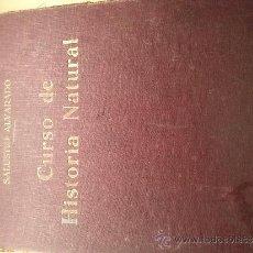Libros antiguos: CURSO DE HISTORIA NATURAL SALUSTIO ALVARADO. Lote 35192042