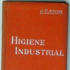 Libros antiguos: HIGIENE INDUSTRIAL - MANUALES SOLER Nº 49 - J. ELEIZEGUI - VER ÍNDICE. Lote 35340637