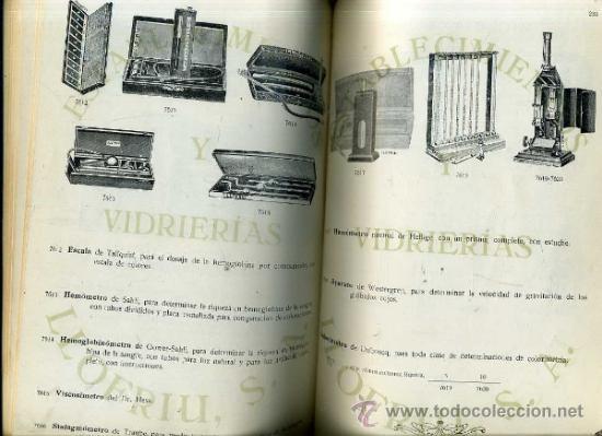 Libros antiguos: CATÁLOGO PARA LABORATORIOS DE ESTABLECIMIENTOS Y VIDRIERÍAS LLOFRIU (MALLORCA, 1930) - Foto 4 - 35345340
