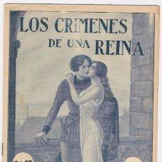 Libros antiguos: LOS CRIMENES DE UNA REINA -FASCICULO N.23. Lote 35388098