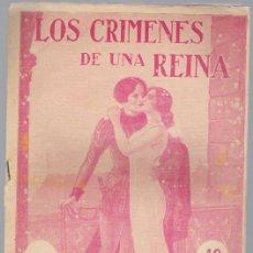 Libros antiguos: LOS CRIMENES DE UNA REINA -FASCICULO N.22. Lote 35388031