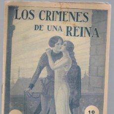 Libros antiguos: LOS CRIMENES DE UNA REINA -FASCICULO N.21. Lote 35388069