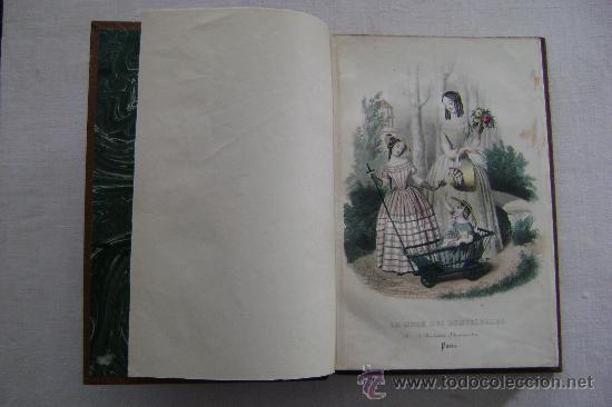 LA MODE DES DEMOISELLES.PARIS.1845-49.REFª226 (Libros Antiguos, Raros y Curiosos - Bellas artes, ocio y coleccionismo - Otros)