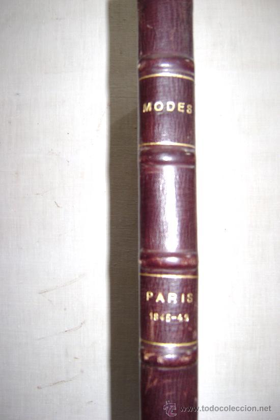 Libros antiguos: LA MODE DES DEMOISELLES.PARIS.1845-49.REFª226 - Foto 3 - 35395495