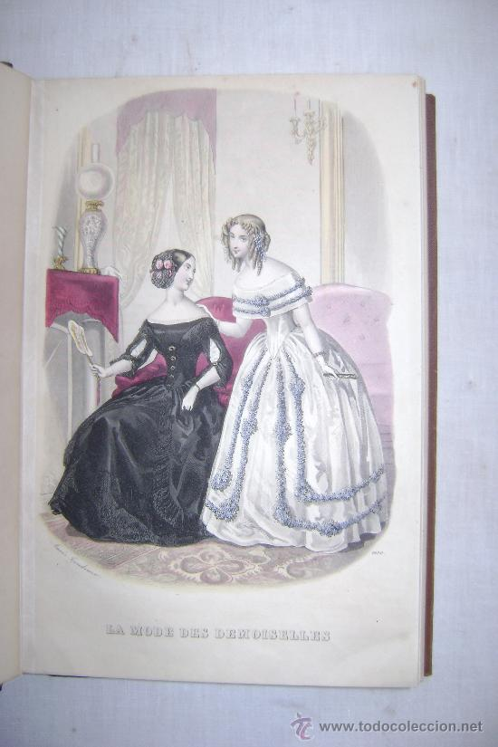 Libros antiguos: LA MODE DES DEMOISELLES.PARIS.1845-49.REFª226 - Foto 4 - 35395495