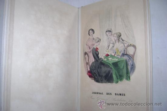 Libros antiguos: LA MODE DES DEMOISELLES.PARIS.1845-49.REFª226 - Foto 5 - 35395495