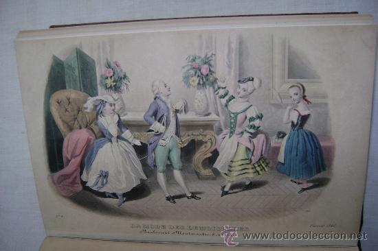 Libros antiguos: LA MODE DES DEMOISELLES.PARIS.1845-49.REFª226 - Foto 6 - 35395495