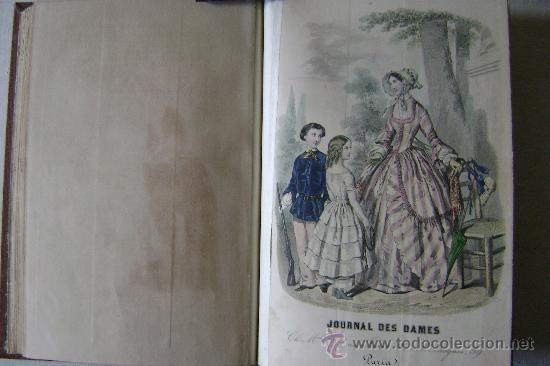 Libros antiguos: LA MODE DES DEMOISELLES.PARIS.1845-49.REFª226 - Foto 7 - 35395495