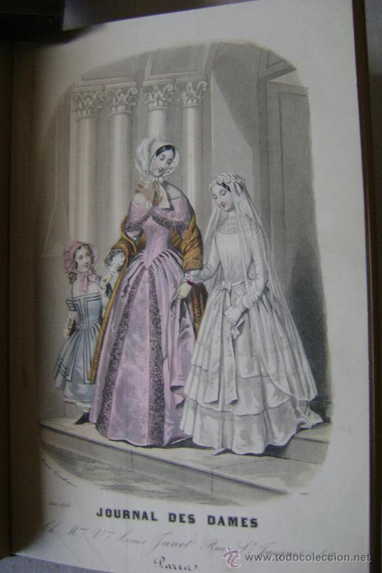 Libros antiguos: LA MODE DES DEMOISELLES.PARIS.1845-49.REFª226 - Foto 8 - 35395495